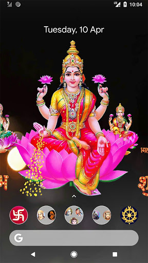 4D Lakshmi Live Wallpaper 7 تصوير الشاشة