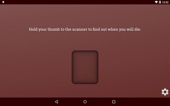 Death Scanner Prank screenshot 7