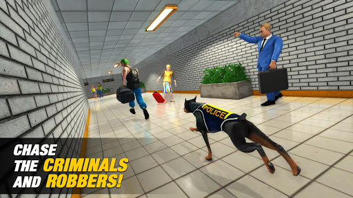 US Police Dog Subway Simulator Games–Crime Chase 5 تصوير الشاشة