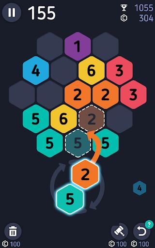 Make7! Hexa Puzzle 1 تصوير الشاشة
