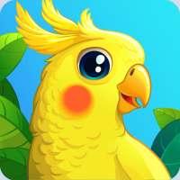 Bird Land Paradise: Pet Shop Game, Play with Bird on 9Apps
