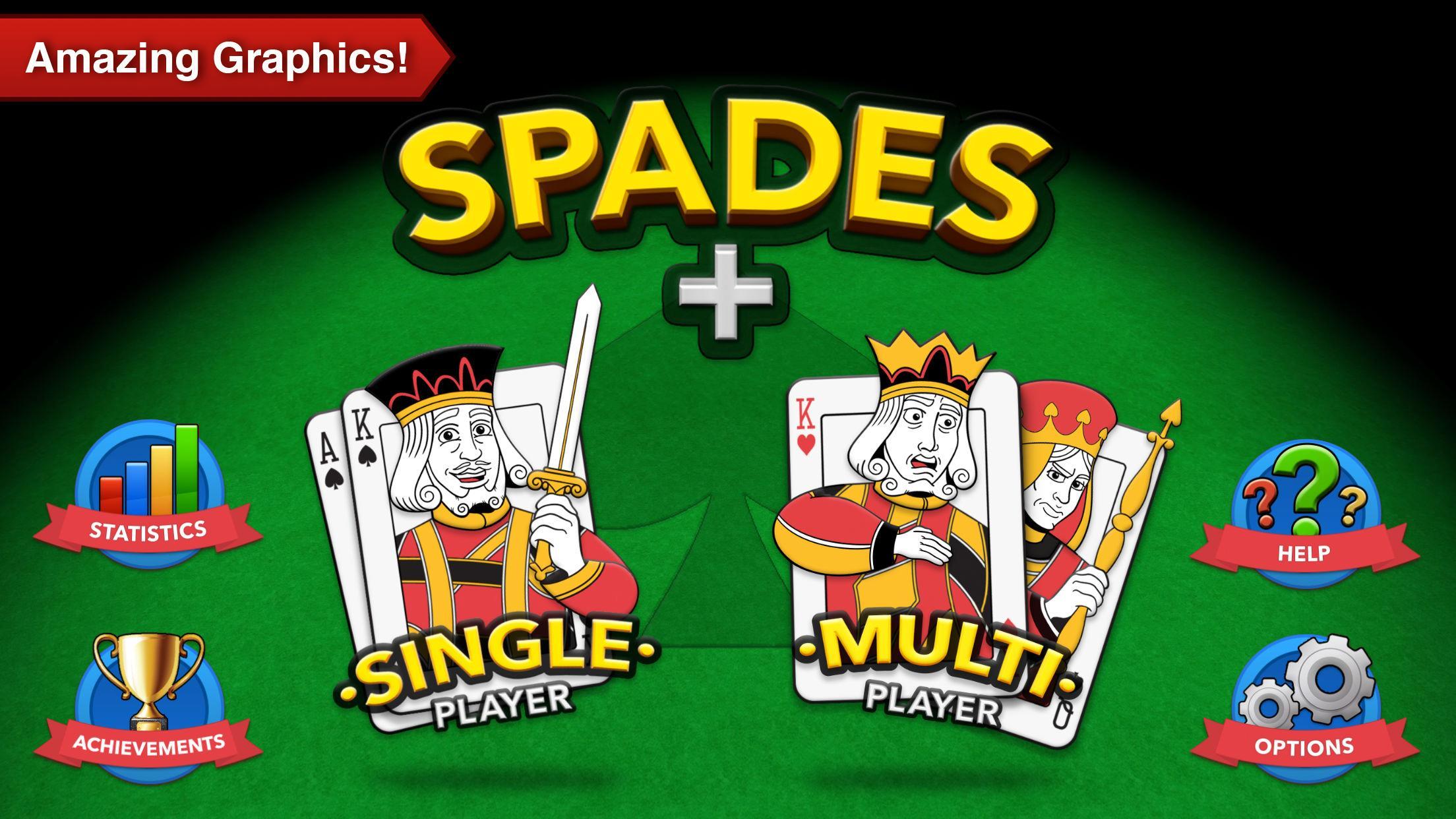 Spades + 2 تصوير الشاشة