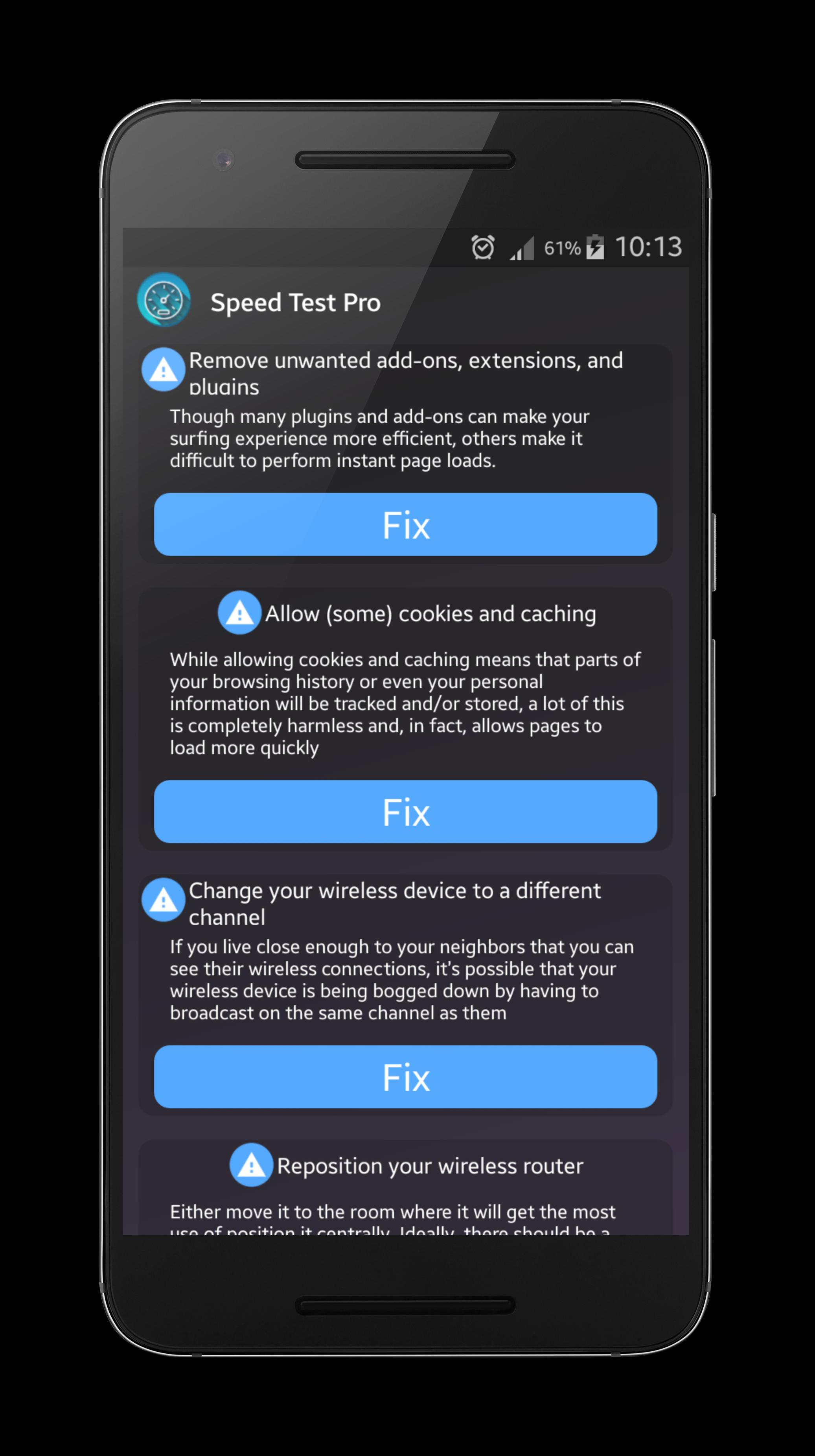Speed Test Pro for Android™ screenshot 5