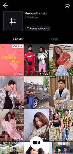 Moj - Made in India | Short Video App screenshot 8