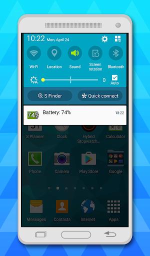 battery indicator free 4 تصوير الشاشة