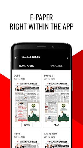 India News, Headlines & epaper - Indian Express 2 تصوير الشاشة