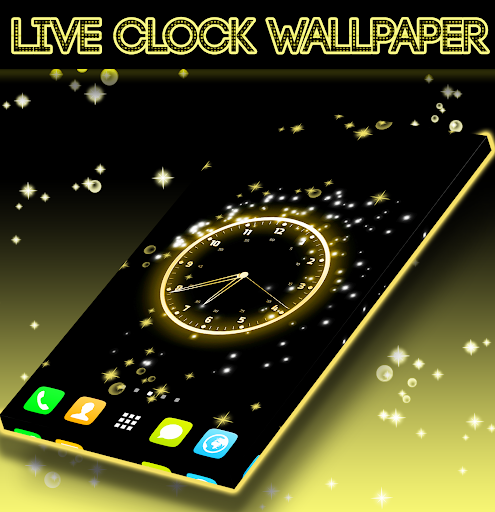 Live Clock Wallpaper screenshot 4