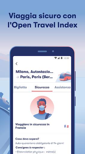 Omio: Compra Biglietti Treni, Bus e Voli in Europa screenshot 2