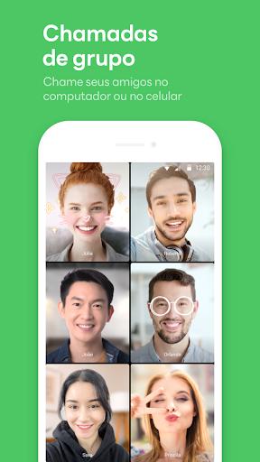LINE:Chamadas&Mensagens Grátis screenshot 4