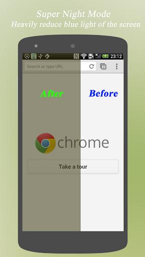 Bluelight Filter - Eye Care screenshot 1