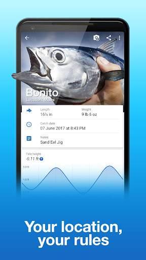 Fishing Points: GPS, Tides & Fishing Forecast screenshot 6