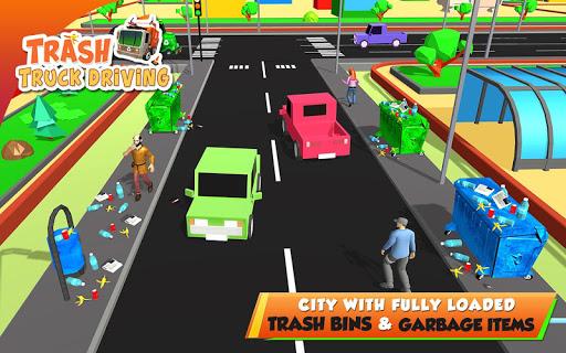 Urban Garbage Truck Driving - Waste Transporter screenshot 19