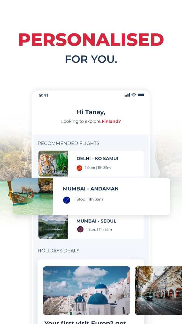 Travelxp Book Flights, Hotels & Holidays screenshot 2