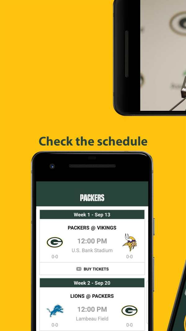 Official Green Bay Packers screenshot 5