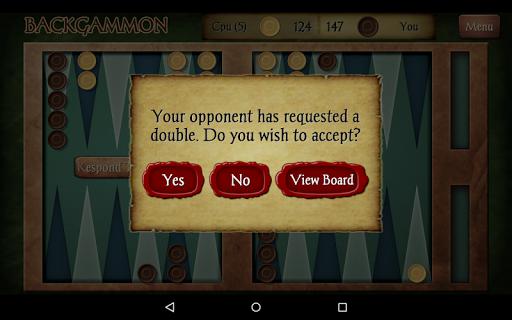 Backgammon Free 14 تصوير الشاشة