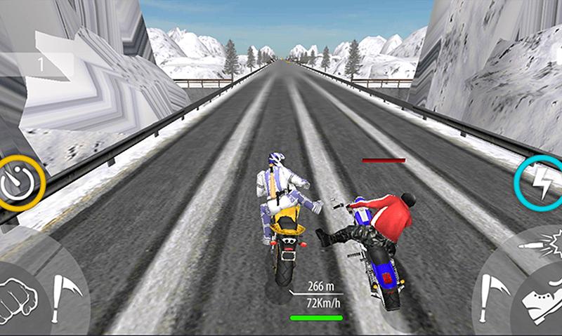 Bike Attack Race Highway Tricky Stunt Rider screenshot 6
