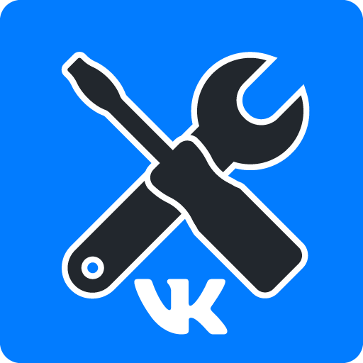 VKHelper - cleaner for VK (friends, communities) أيقونة