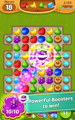 Fruits Mania : Fairy rescue 1 تصوير الشاشة