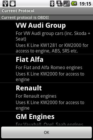 OBDKey Fault Code Reader screenshot 5