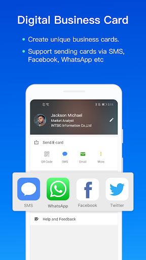 CamCard - Business Card Reader screenshot 4