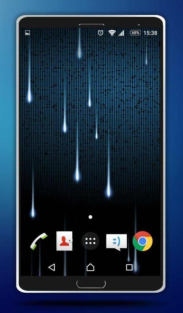 Star Rain Live Wallpaper screenshot 3