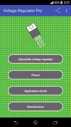 Voltage Regulator 1 تصوير الشاشة