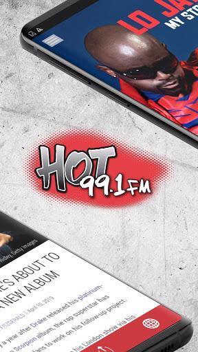 Hot 99.1 - Hip Hop and R&B - Albany (WQBK-HD2) 2 تصوير الشاشة