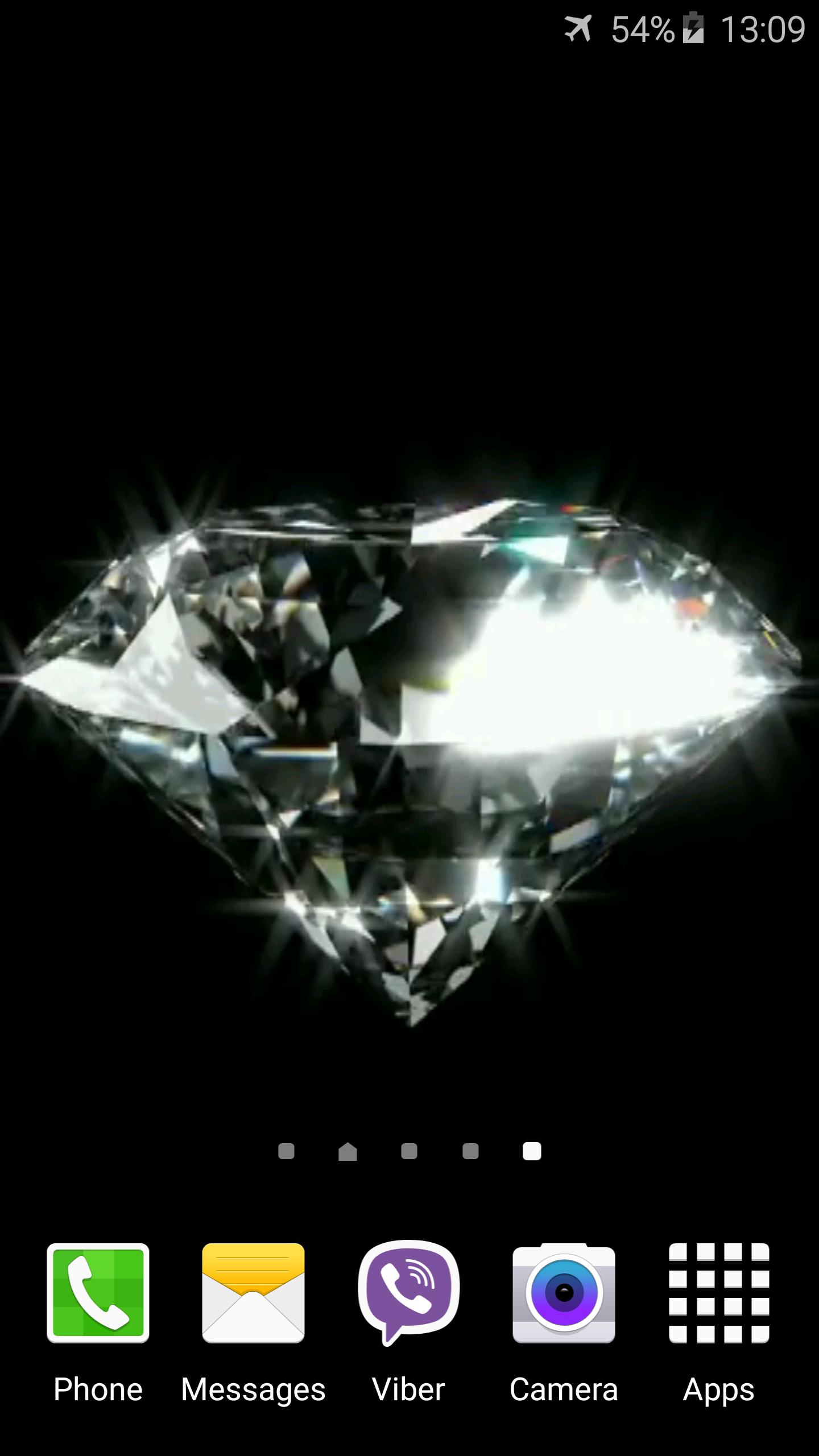 Diamond Video Live Wallpaper 3 تصوير الشاشة