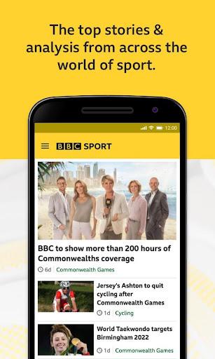 BBC Sport - News & Live Scores 1 تصوير الشاشة
