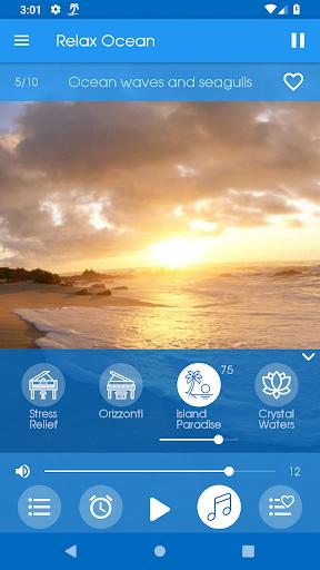 Relax Ocean - Nature sounds: sleep & meditation screenshot 3