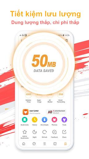 UC Browser - Duyệt nhanh& Tải video miễn phí😍 screenshot 2