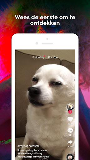 TikTok: Video's, Muziek & Lives screenshot 3