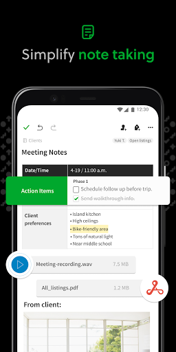 Evernote - Notes Organizer & Daily Planner screenshot 1