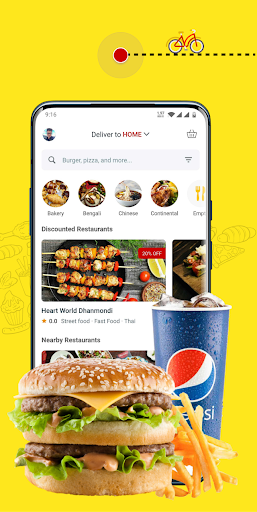 eFood - Express Food Delivery скриншот 1