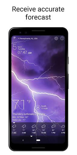 Weather Live screenshot 2
