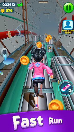 Subway Princess Runner скриншот 4