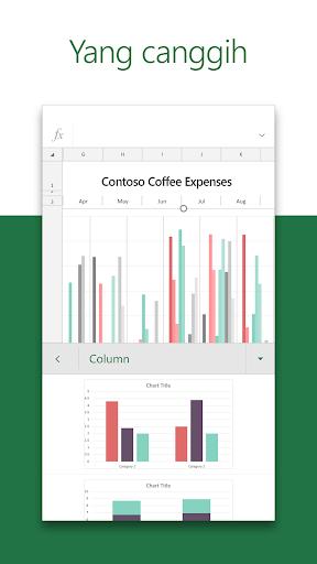 Microsoft Excel: Buka, Edit, & Buat Lembar Bentang screenshot 3