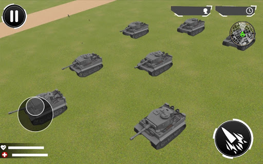 Tanks World War 2: RPG Survival Game screenshot 3