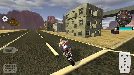 Fast Motorcycle Driver Extreme 8 تصوير الشاشة