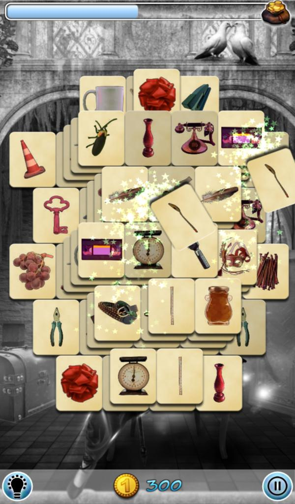 Hidden Mahjong: Witch screenshot 5