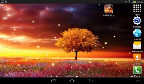 Awesome-Land Live wallpaper HD : Grow more trees screenshot 13