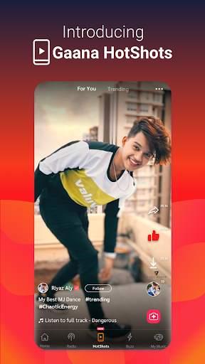 Gaana Song Hotshots Video Music Free Hindi MP3 App screenshot 2