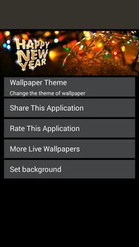 سنة جديدة سعيدة لايف للجدران 6 تصوير الشاشة