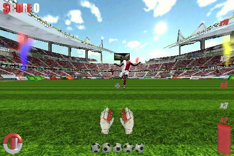 Goalkeeper Soccer World 1 تصوير الشاشة