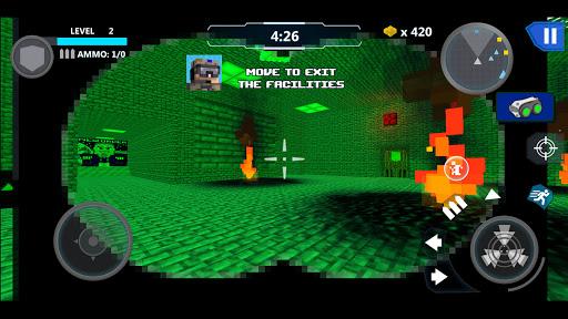 Cube Wars Battle Survival 6 تصوير الشاشة