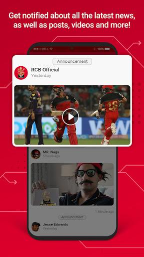 RCB Official- Live Cricket Scores screenshot 7
