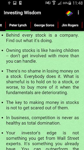 Investing Wisdom 2 تصوير الشاشة