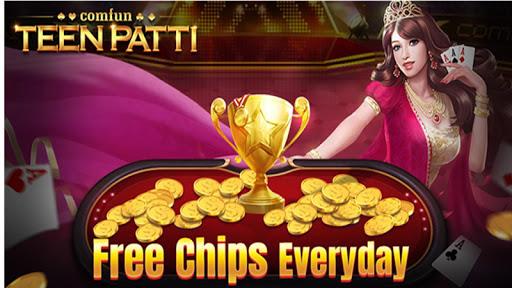 Teen Patti Comfun-Indian 3 Patti Card Game Online 7 تصوير الشاشة