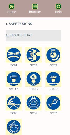 Marine Safety Signs screenshot 4