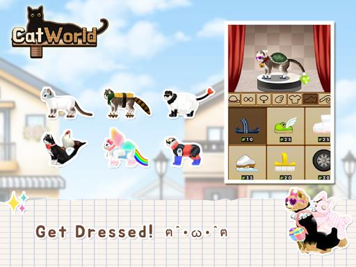 Cat World - The RPG of cats screenshot 2